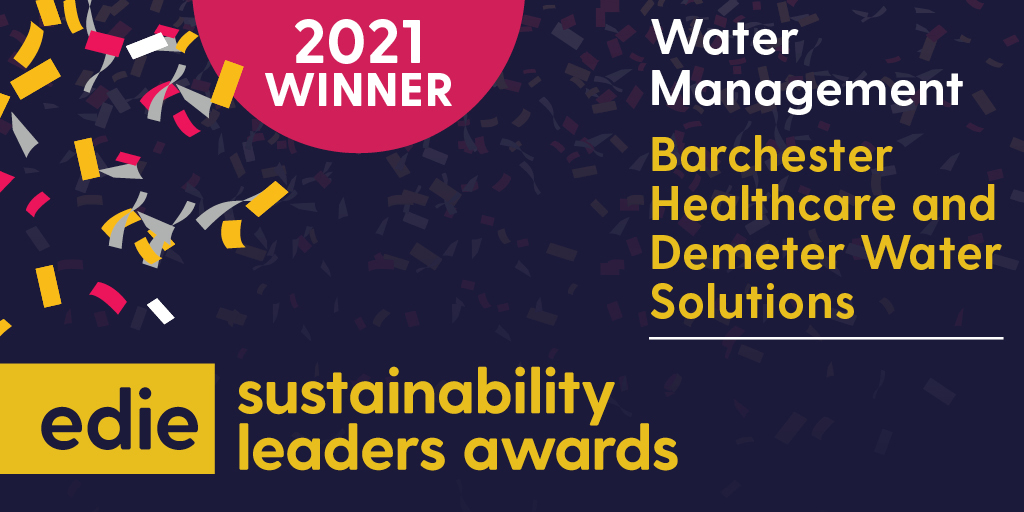 edie - SLA 2021 - Winner - Water Management