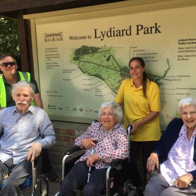 Day Trip to Lydiard Park