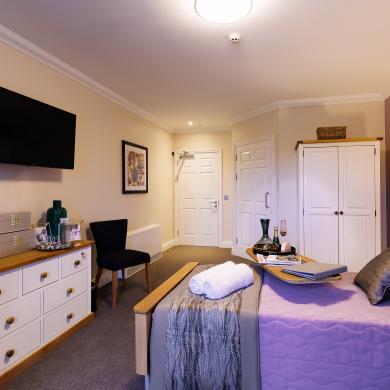 Trinity Manor Care Home bedroom