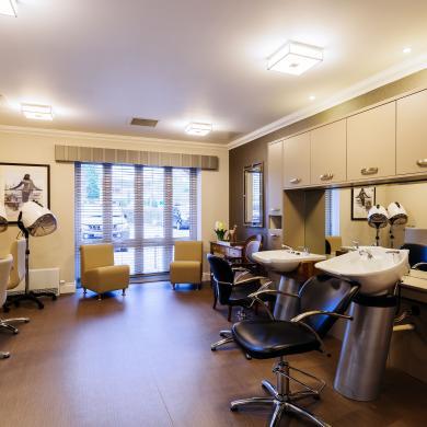 Trinity Manor Care Home hair beauty salon