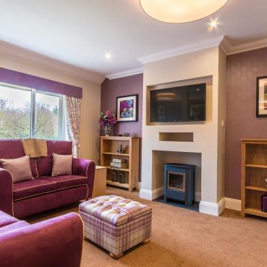 Memory Lane lounge at Chalfont Lodge