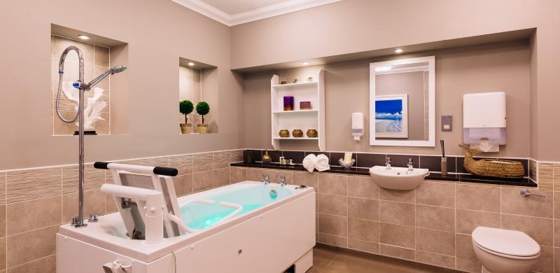 Trinity Manor Care Home spa bath