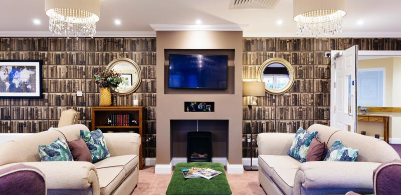 Trinity Manor Care Home lounge