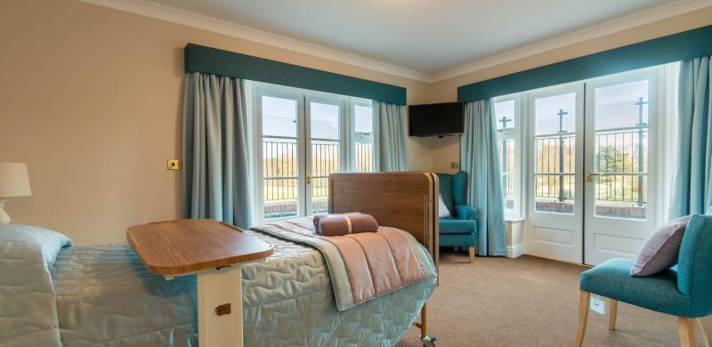 Memory Lane bedroom at Chacombe Park