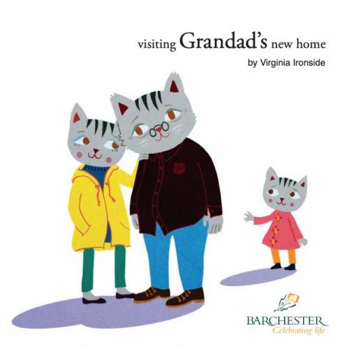 Visiting grandad's new home