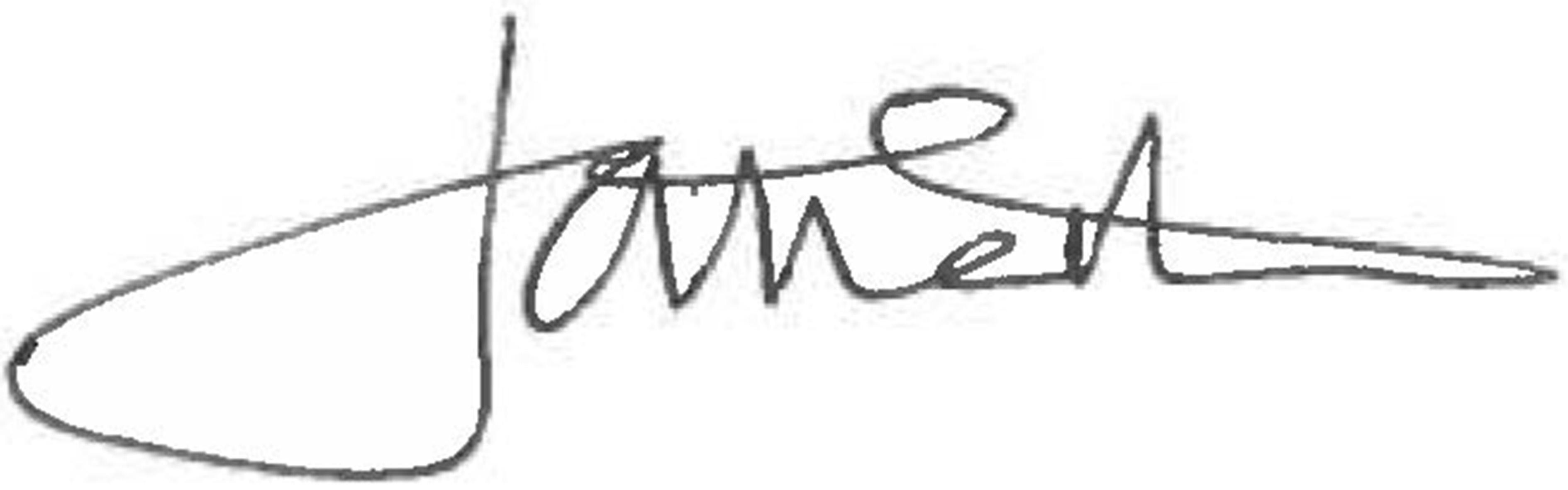 朱莉娅·纳斯顿的签名
